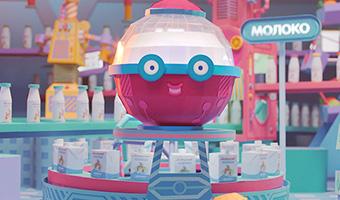 ТМ «Яготинское для детей» создала новый рекламный ролик с сырком в главной роли