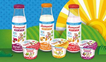 Зустрічайте новинки: три нові смаки йогуртів та сиркових паст