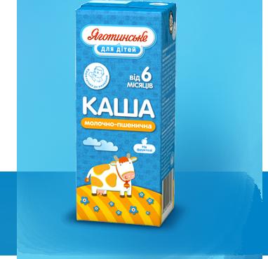 Каша молочно-пшенична