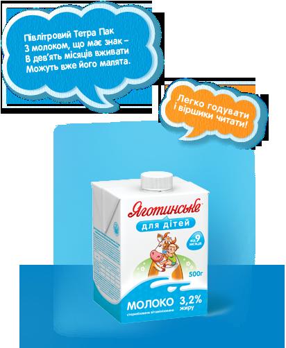 Молоко у ТетраПак, 500 г