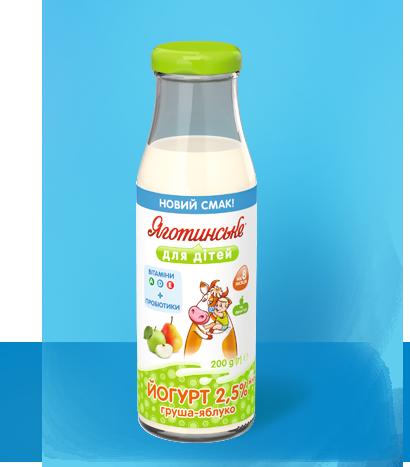 Йогурт «Груша-яблуко»