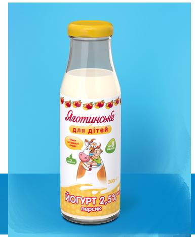 Йогурт «Персик»